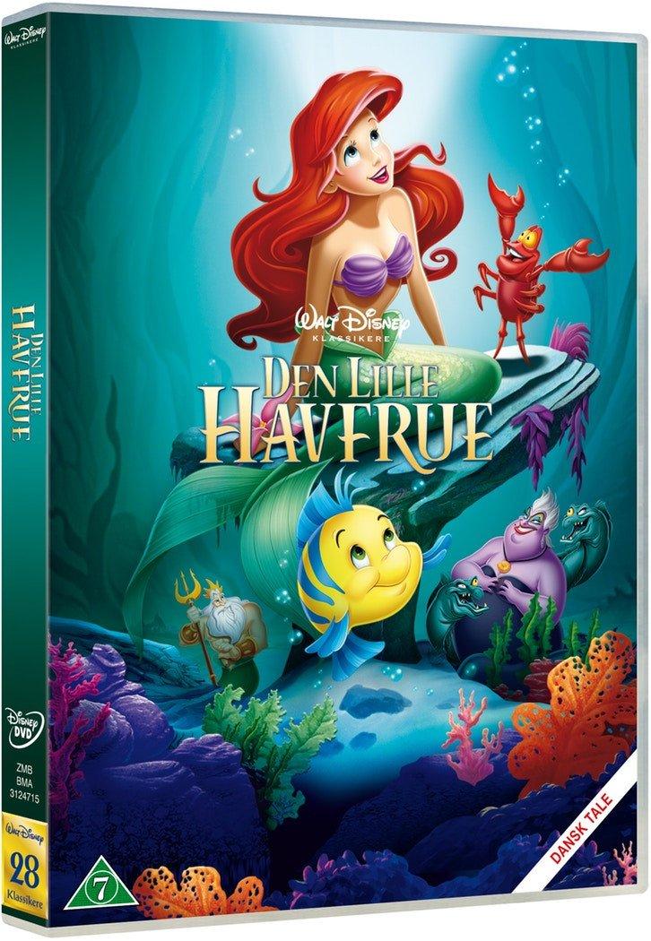 Den lille havfrue disney dvd - 10+ Ariel gaveideer til børn