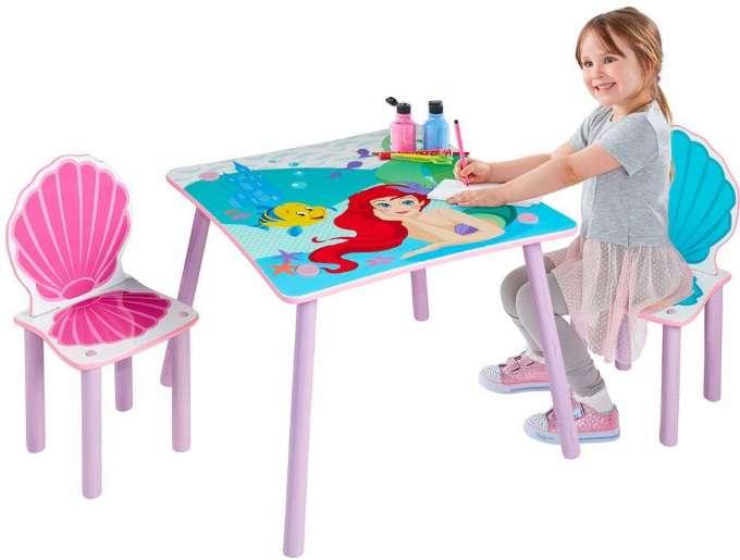 Disney Princess Ariel Bord og Stole - 10+ Ariel gaveideer til børn