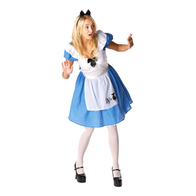 Disney alice i eventyrland kostume til voksne - Disney kostume til voksne