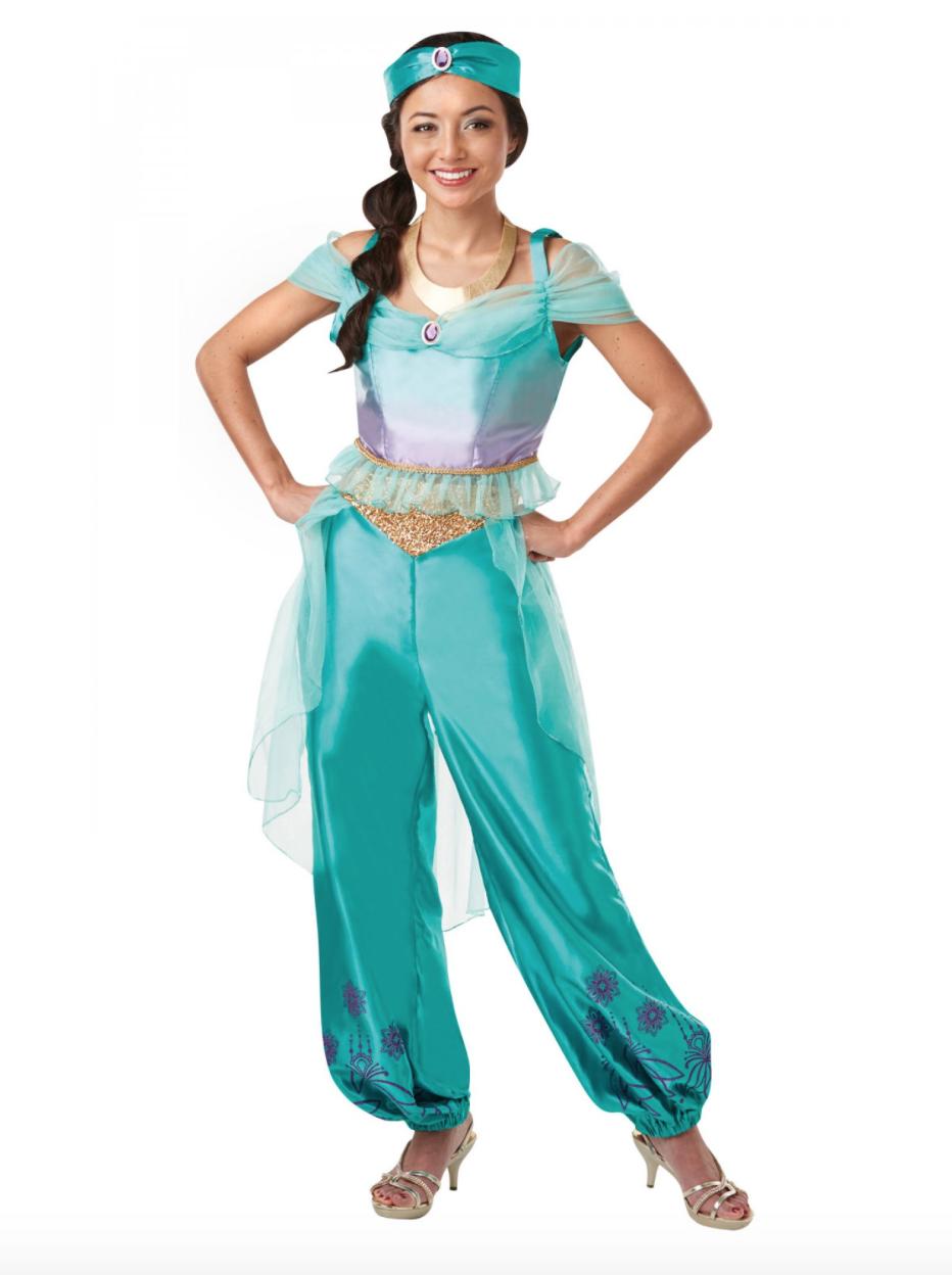 Disney jasmin prinsesse kostume - Disney prinsesse kostume til voksne