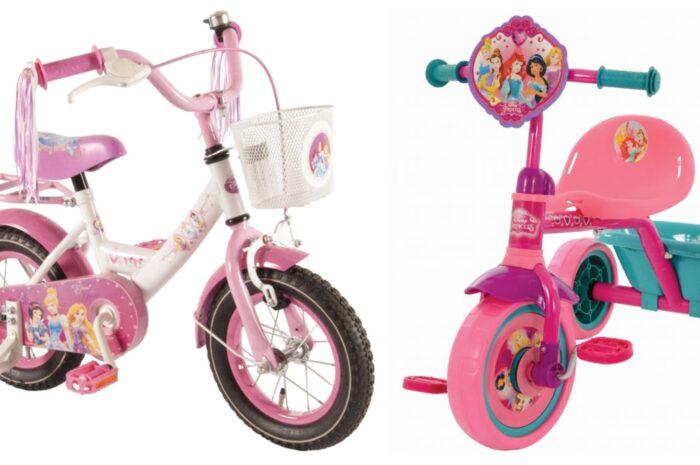 Disney prinsesser cykel