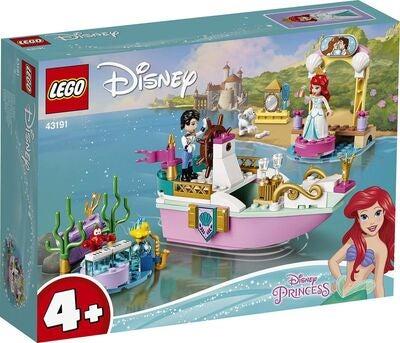 LEGO Disney Princess 43191 Ariels festbåd - 10+ Ariel gaveideer til børn