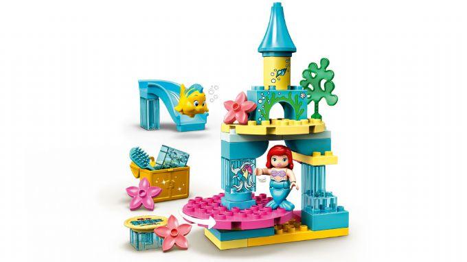 Lego duplo ariels undervandsslot - 10+ Ariel gaveideer til børn