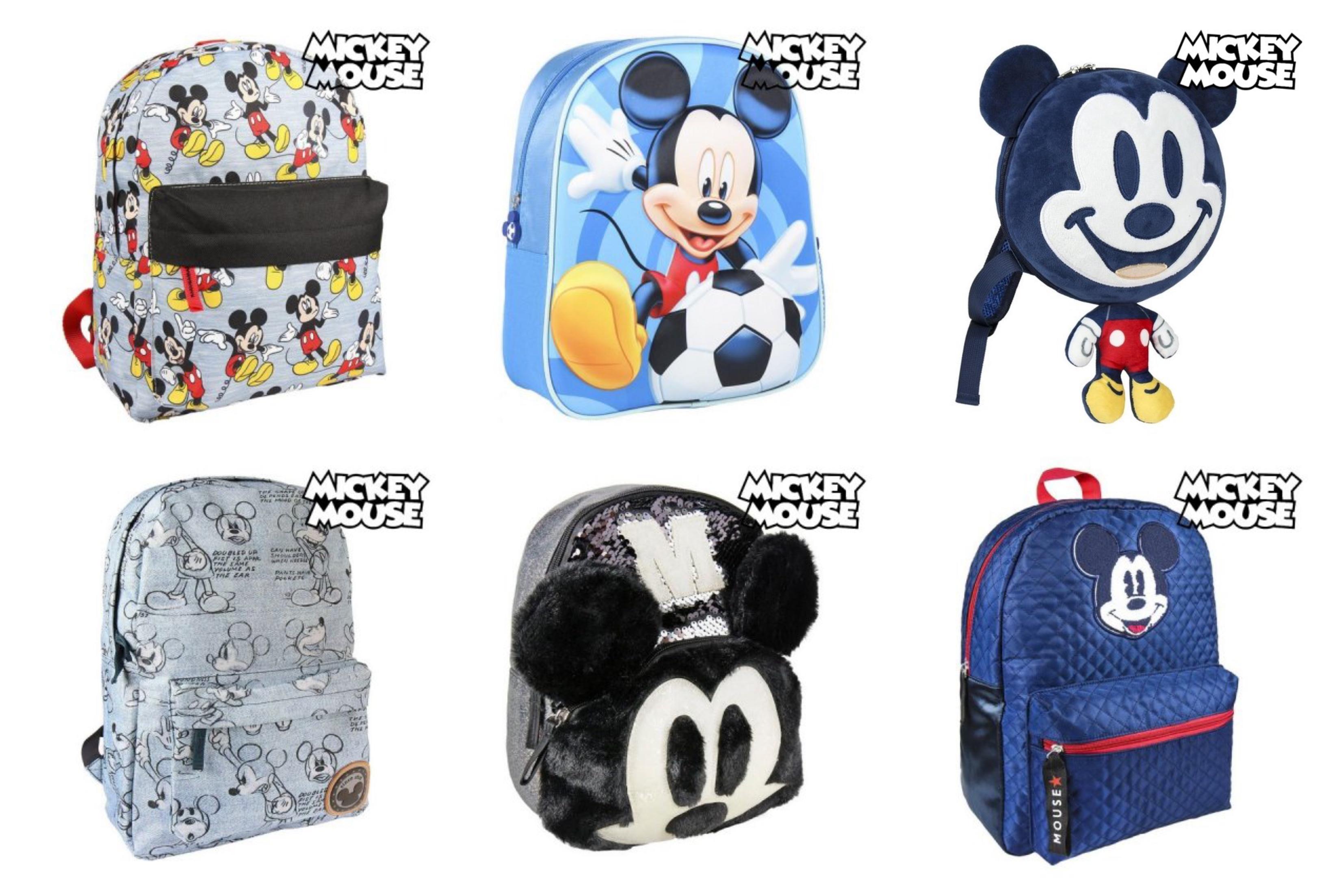 Mickey Mouse taske til børn 1 - Mickey Mouse rygsæk til børn