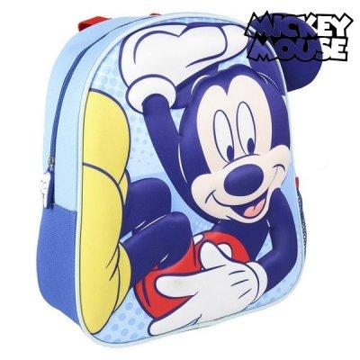 Mickey mouse børnerygsæk med 3d print - Mickey Mouse rygsæk til børn