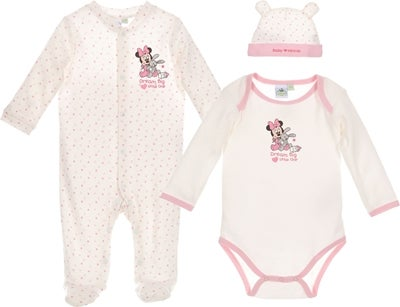 Minnie Mouse tøj til baby - 10+ Minnie Mouse gaveideer til baby