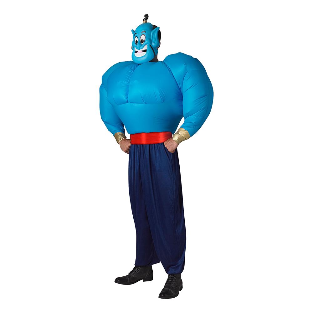 Oppustelig genie kostume - Disney kostume til voksne