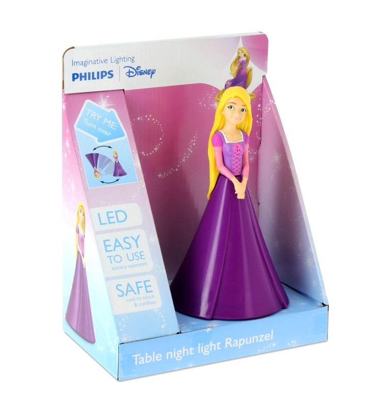 Rapunzel bordlampe til børn - 10+ Rapunzel gaveideer til børn