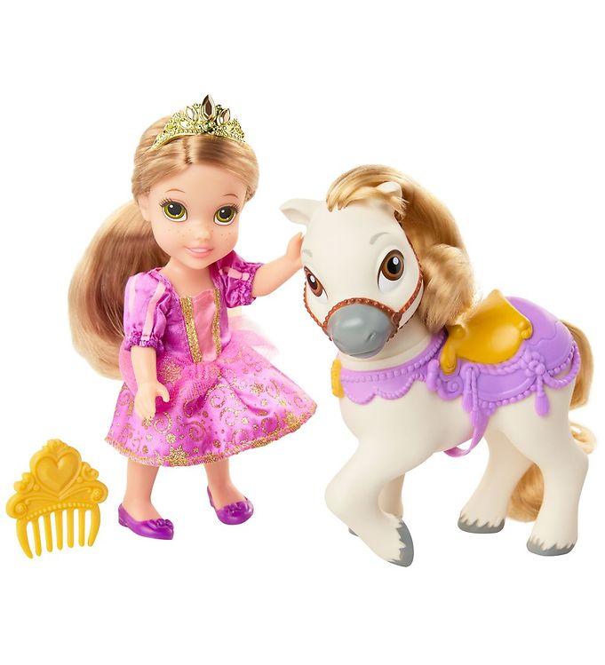 Rapunzel dukke med hest - 10+ Rapunzel gaveideer til børn