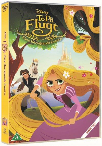 To På Flugt Flere Hårrejsende Eventyr DVD - 10+ Rapunzel gaveideer til børn
