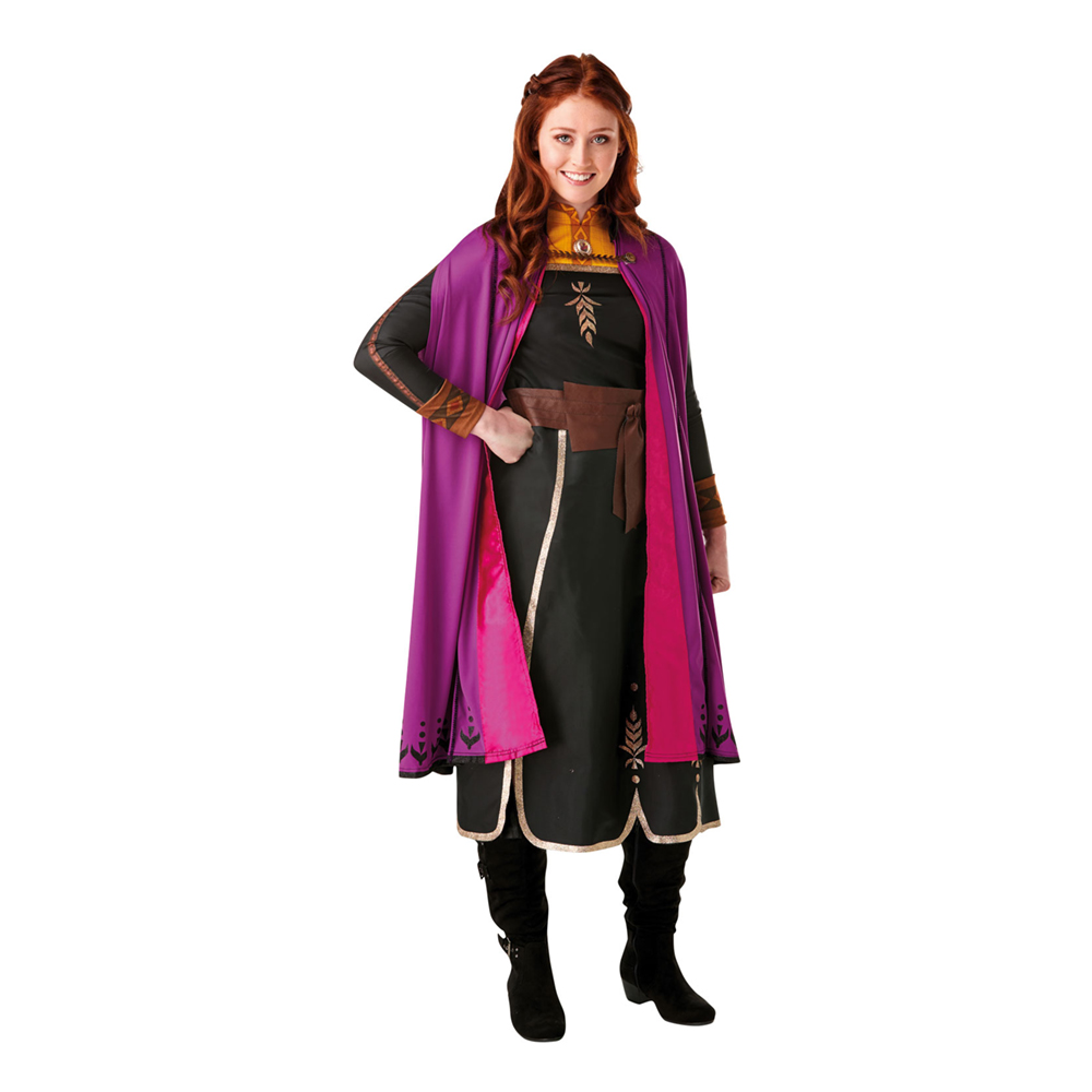 anna kostume til voksne - Disney kostume til voksne