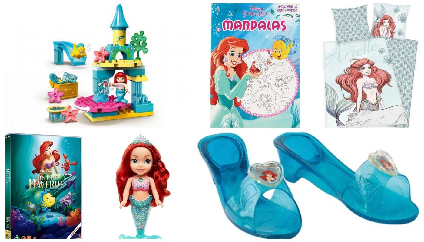 ariel gaveideer til børn, ariel gaver til børn, disney gaveideer til børn, disney gaver til piger, ariel legetøj, ariel film, ariel børnekostume, ariel malebog, den lille havfrue gaveideer, den lille havfrue gaver til børn