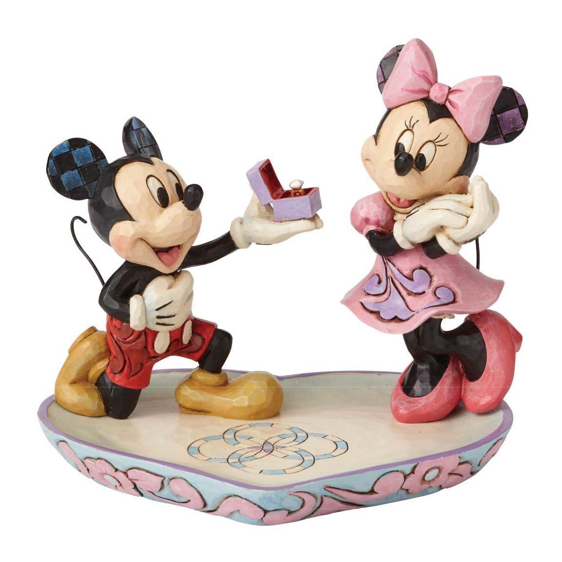 jim shore minnie og mickey mouse figur minnie mouse gaveideer - Minnie Mouse gaveideer til voksne