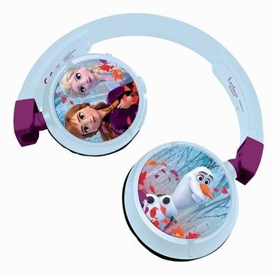 Disney Frozen Trådløse Høretelefoner Vikbara - Frost høretelefoner til børn