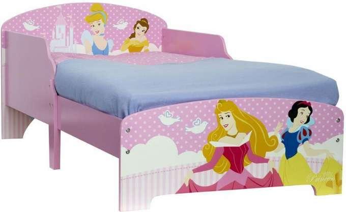 Disney princess juniorseng med madras - Disney prinsesser juniorseng