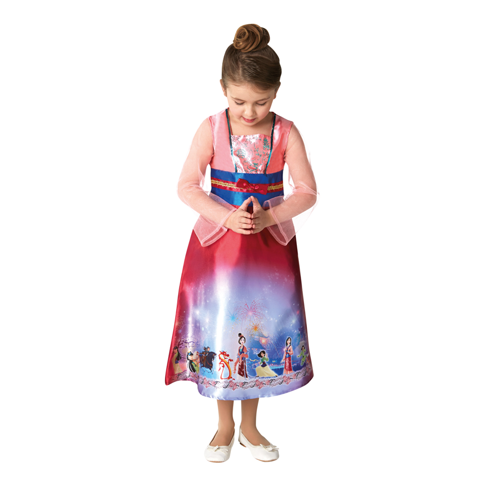 Mulan kjole til børn - Mulan kostume til børn