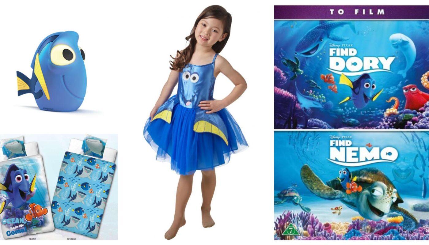 find dory gaveideer til børn, find dory gaver til børn, find dory legetøj til børn, find dory ting til børn, find dory børnegaver, find dory kostumer til børn