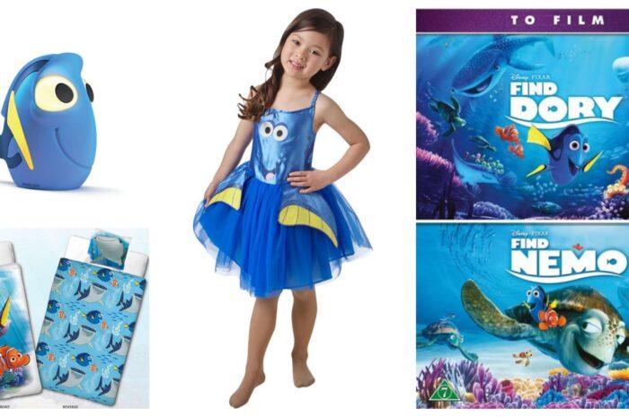 15+ Find Dory gaveideer til børn
