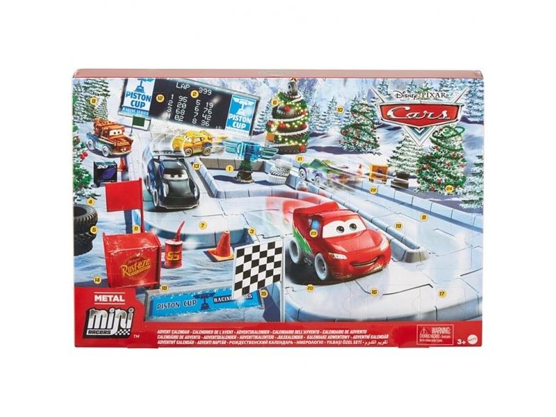 Disney Cars pakkekalender - Cars julekalender 2021