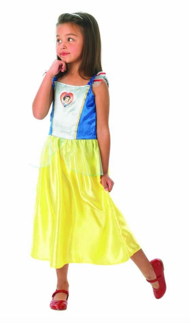 Disney snehvide børnekostume - Disney prinsesse kostume til børn