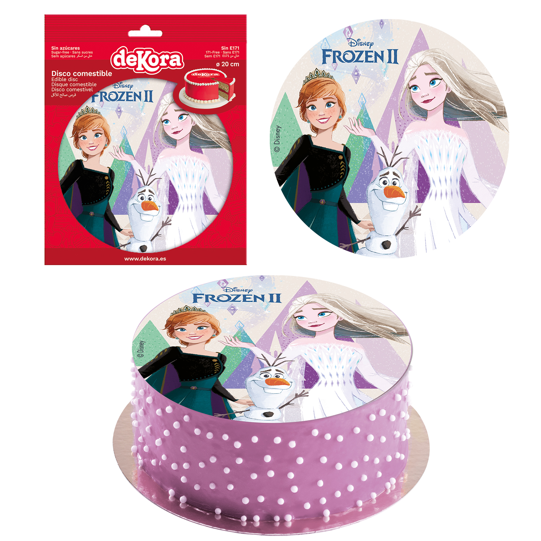 Frozen 2 sukkerprint - Lav nemt en Frost kage med Frost kageprint