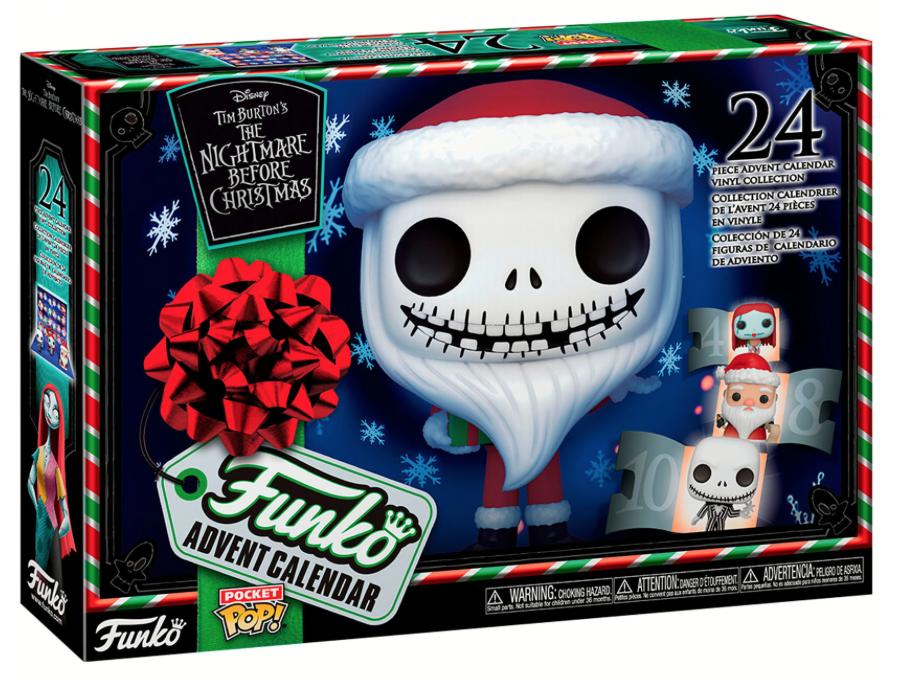 Funko Pocket Pop julekalender 2020 Nightmare Before Christmas - Disney julekalender 2020