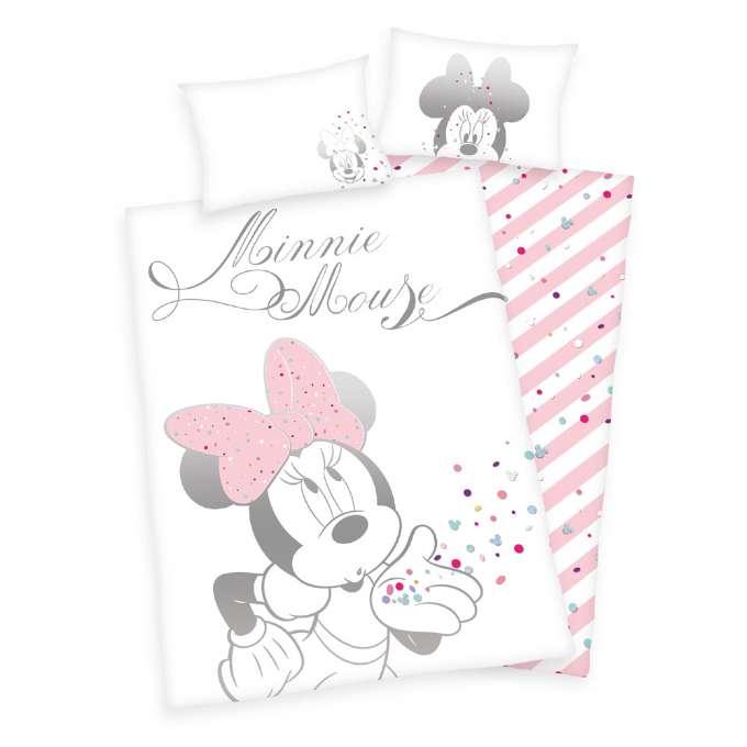Minnie Mouse juniorsengetøj - 10+ Minnie Mouse gaveideer til baby