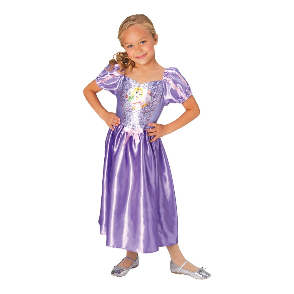 Rapunzel børnekostume - Disney prinsesse kostume til børn