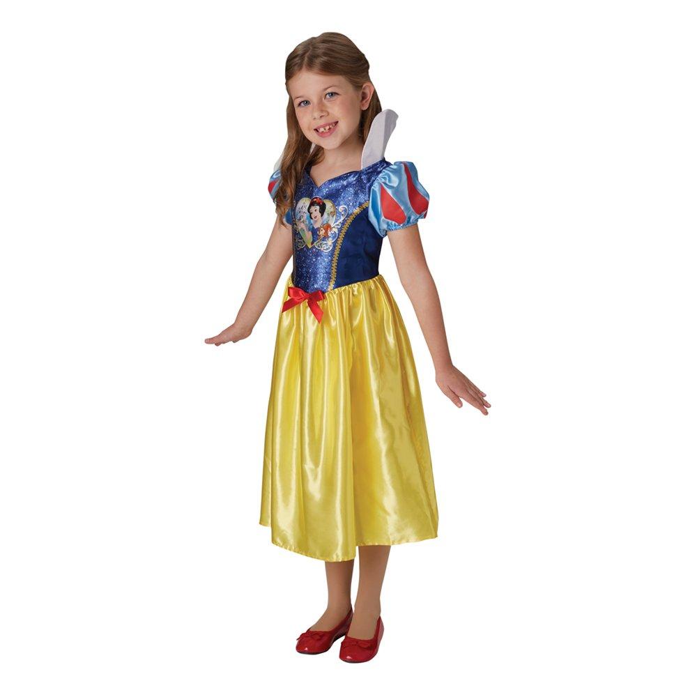Snehvide kostume til børn - Disney prinsesse kostume til børn