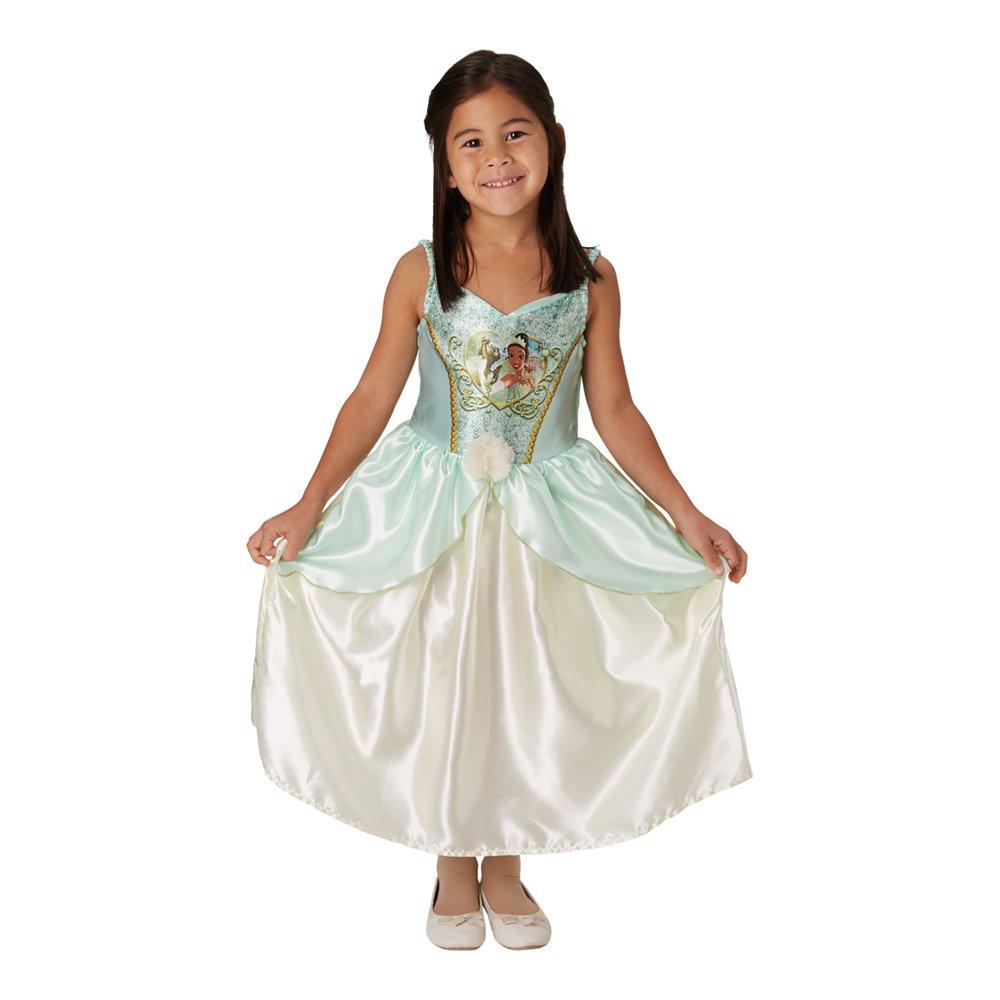 Tiana børnekostume - Disney prinsesse kostume til børn