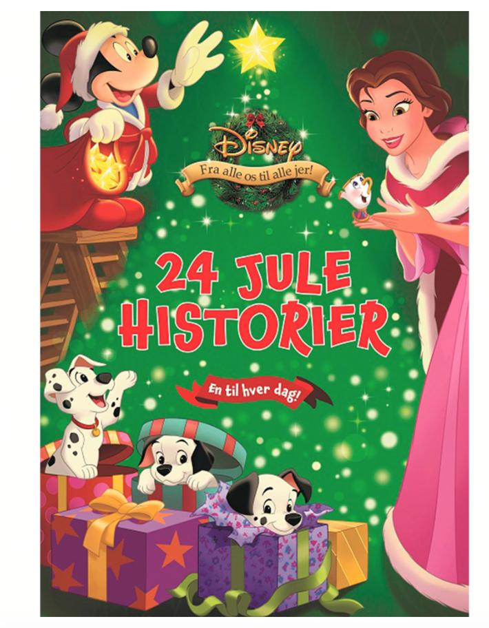 disney julekalenderbog - Disney julekalender 2021
