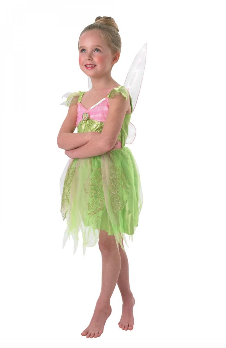 klokkeblomst udklædning til børn - Disney prinsesse kostume til børn