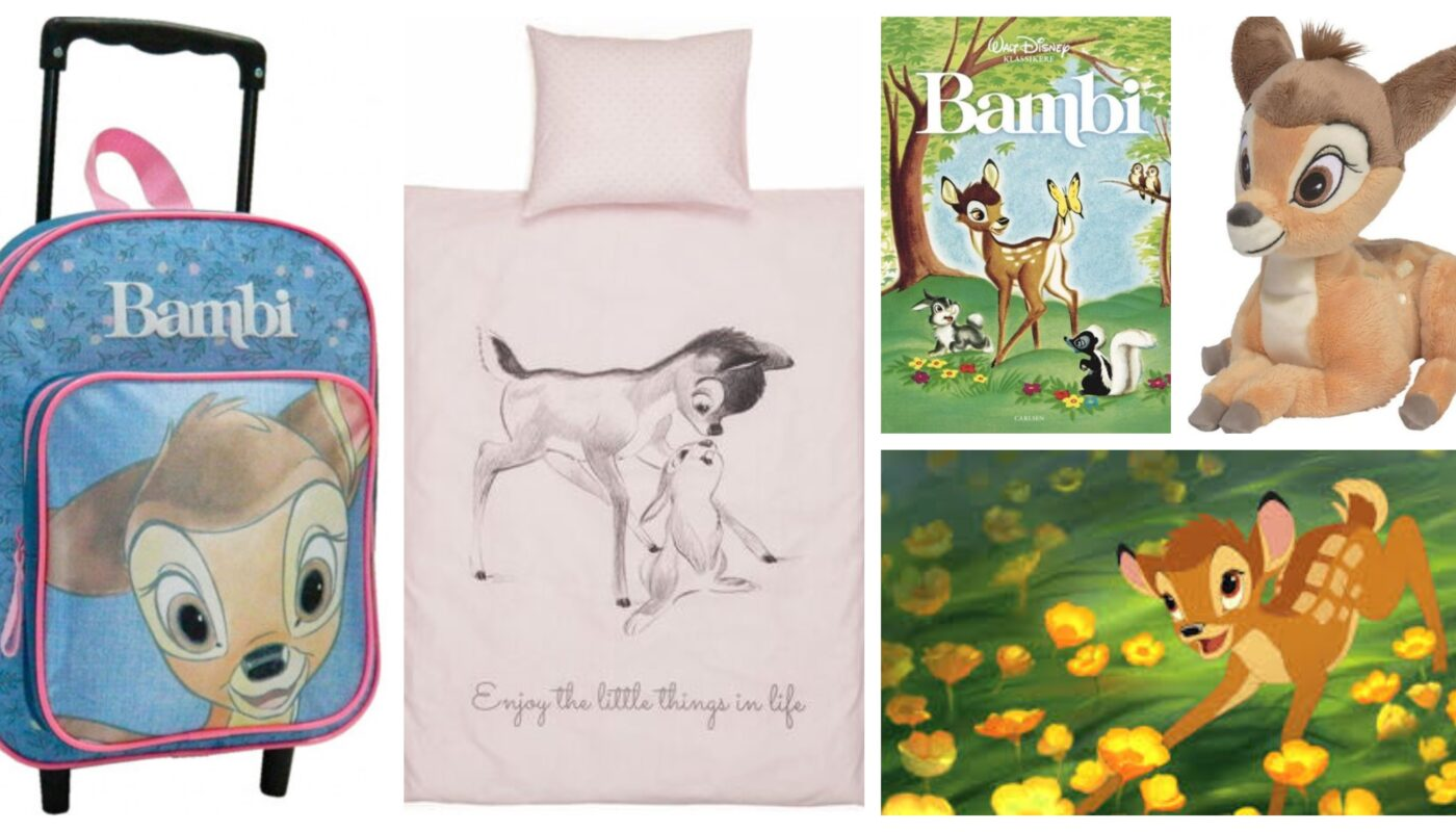 bambi gaveideer til børn, bambi gaver til børn, bambi børnegaver, bambi legetøj, bambi taske, bambi sengetøj, disney bambi, bambi dvd, bambi bog, bambi bamse