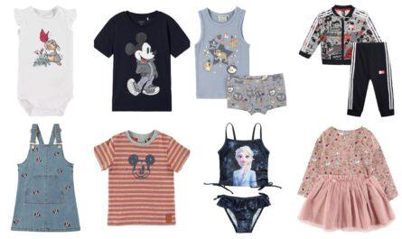 Disney børnetøj, disney babytøj, børnetøj med disneymotiv, børnetøj med disneyprint, babytøj med disneyprint, disney sommertøj, disney vintertøj