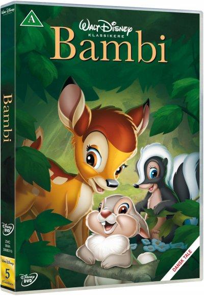 Disney bambi dvd - Bambi gaveideer til børn