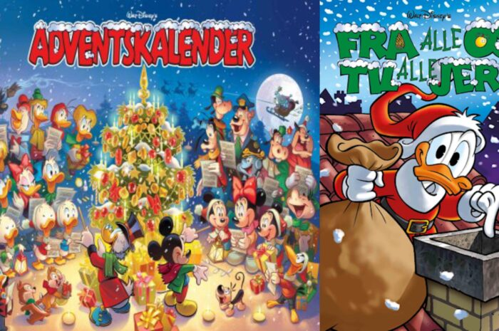 Disney julebøger