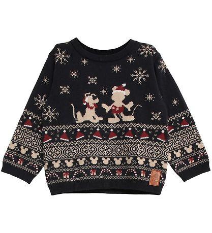 Disney juletrøje i strik - Disney juletrøjer til børn