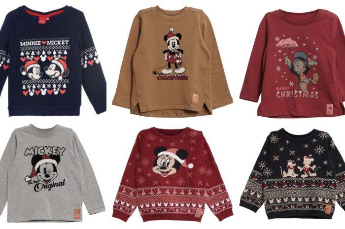 Disney juletrøjer til børn