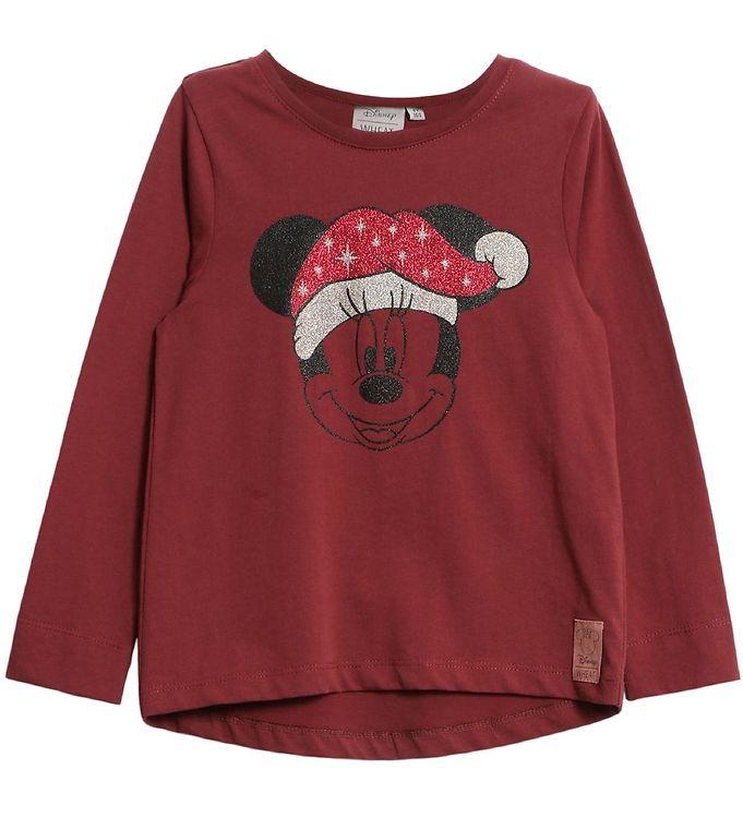 Minnie mouse julebluse - Disney juletrøjer til børn