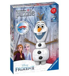 Olaf 3d puslespil 273x300 - 30+ Frost 2 gaveideer til børn