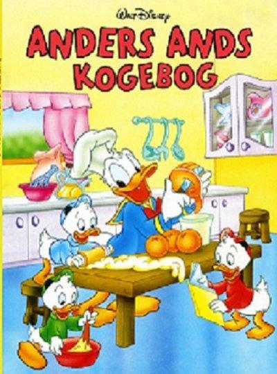 Anders and kogebog til børn - Anders And gaveideer til børn