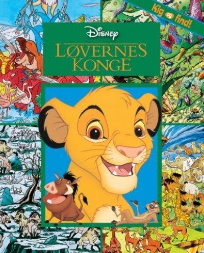 Disney Kig Find Løvernes Konge Bog - 20+ Løvernes konge gaveideer til børn
