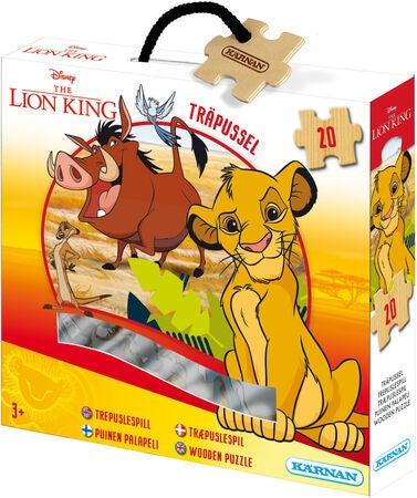 Disney Løvernes Konge Træpuslespil  - 20+ Løvernes konge gaveideer til børn