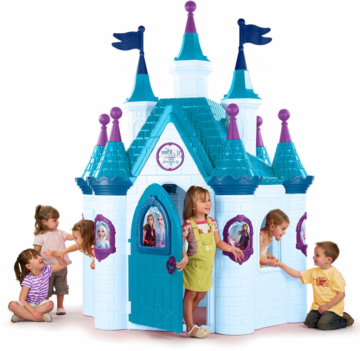 FEBER Legehus Disney Frozen 2 Arendele - Disney Frost legehus