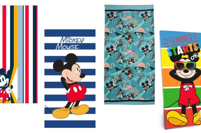 Mickey Mouse badehåndklæde