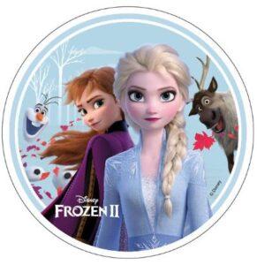 Disney's Frost 2 kageprint 291x300 - Lav nemt en Frost kage med Frost kageprint