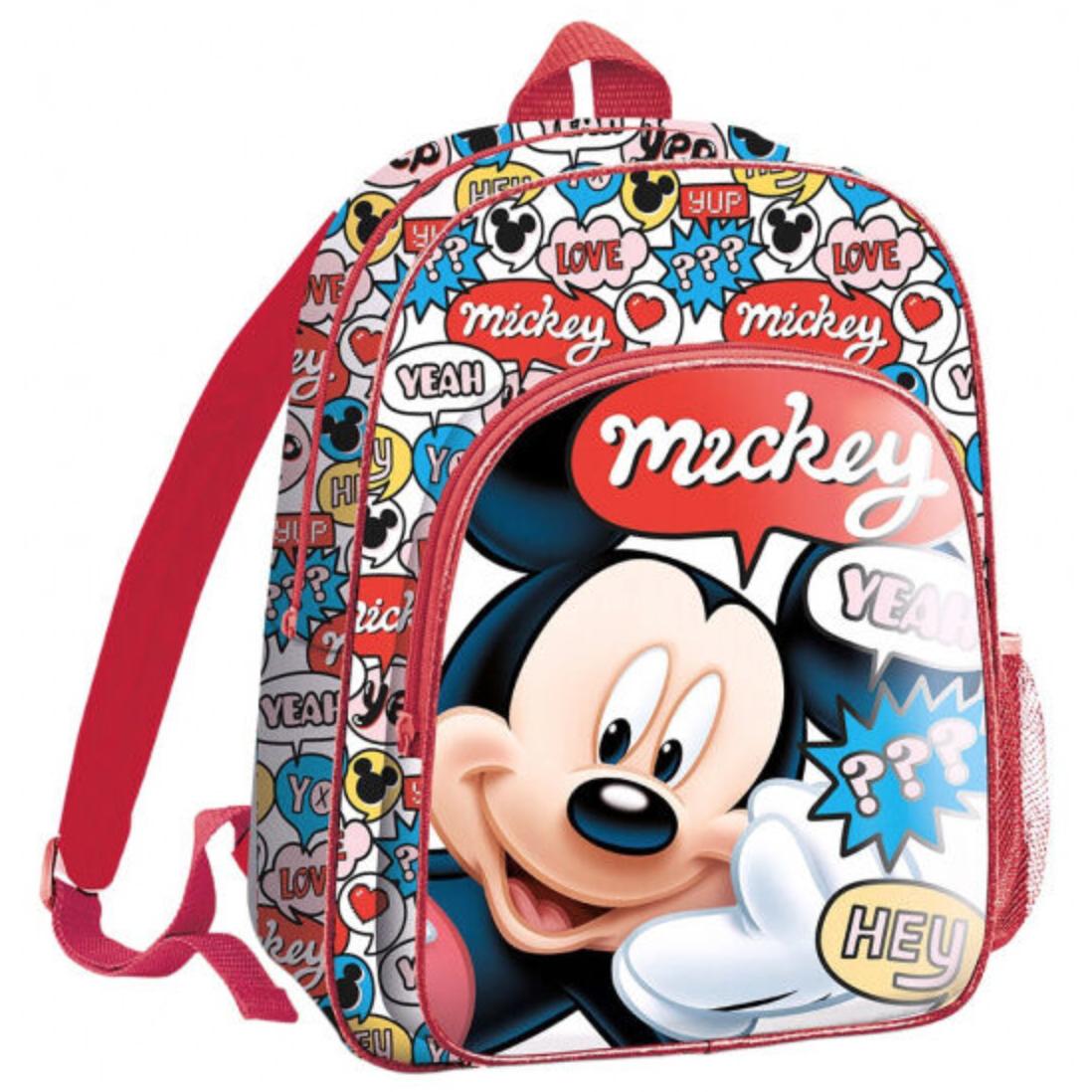 Disney Mickey Mouse børnerygsæk - Mickey Mouse rygsæk til børn