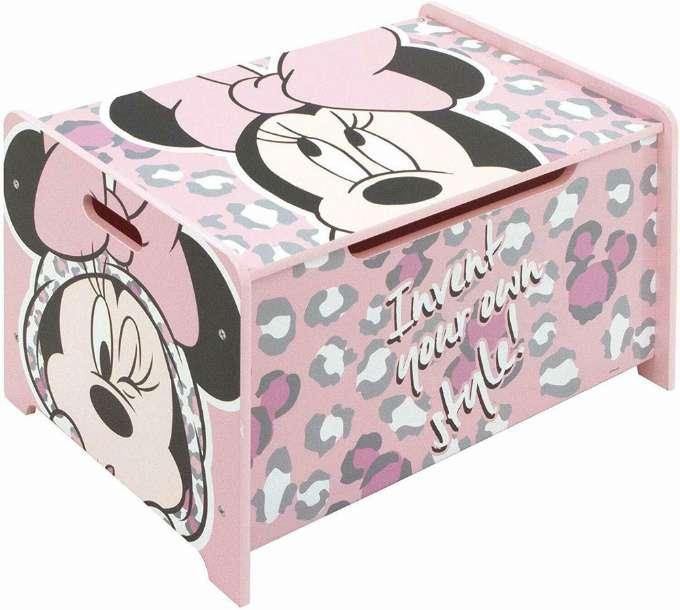 Disney Minne Mouse legetøjskiste - Inspiration til indretning af Minnie Mouse børneværelse