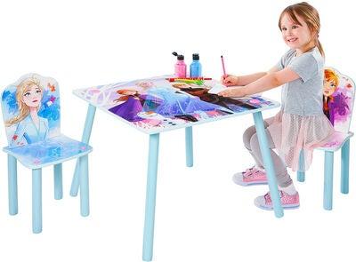 Disney frost 2 børnebord og stole - Inspiration til indretning af Frost børneværelse