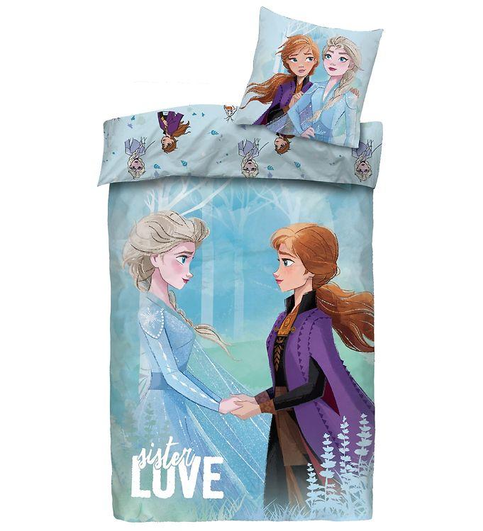 Disney frost 2 sengetøj - Inspiration til indretning af Frost børneværelse